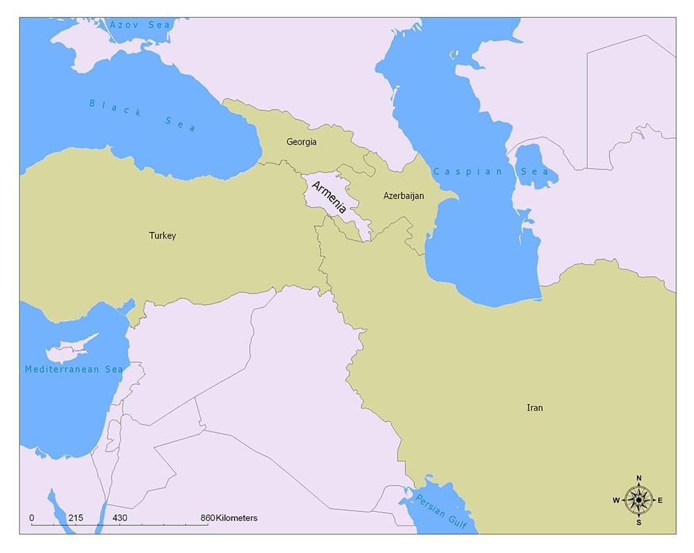 Neighboring Countries of Armenia