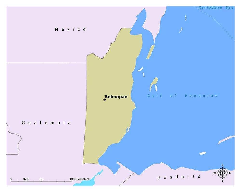 Where is Belmopan