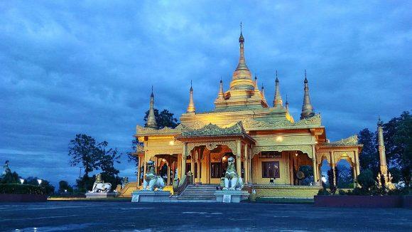 Golden Pagoda in Arunachal Pradesh