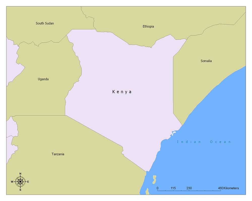 Neighboring Countries of Kenya