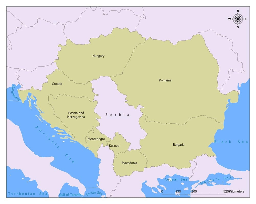 Neighboring Countries ofSerbia