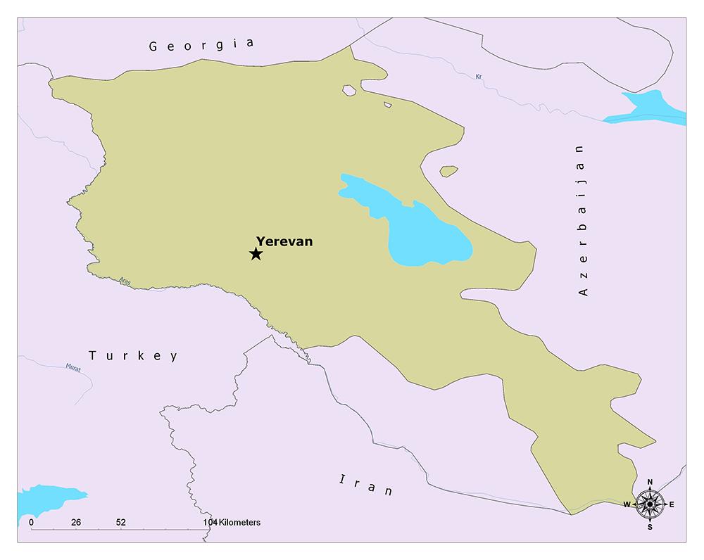 Where is Yerevan